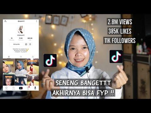 TIPS DAN CARA VIDEO TIKTOK MASUK BERANDA/FYP - NO CLIKBAIT!! (Pengalaman pertama masuk FYP)