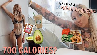I followed a VICTORIA SECRETS MODELS DIET for 24hours!!