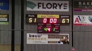27 january 2018 Rivertrotters U22 vs Almere pioneers 51-67 4th period