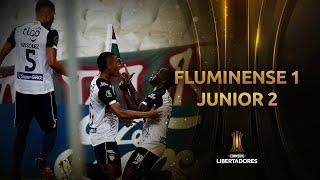 Fluminense vs. Junior [1-2]   RESUMEN   Fecha 5   CONMEBOL Libertadores 2021