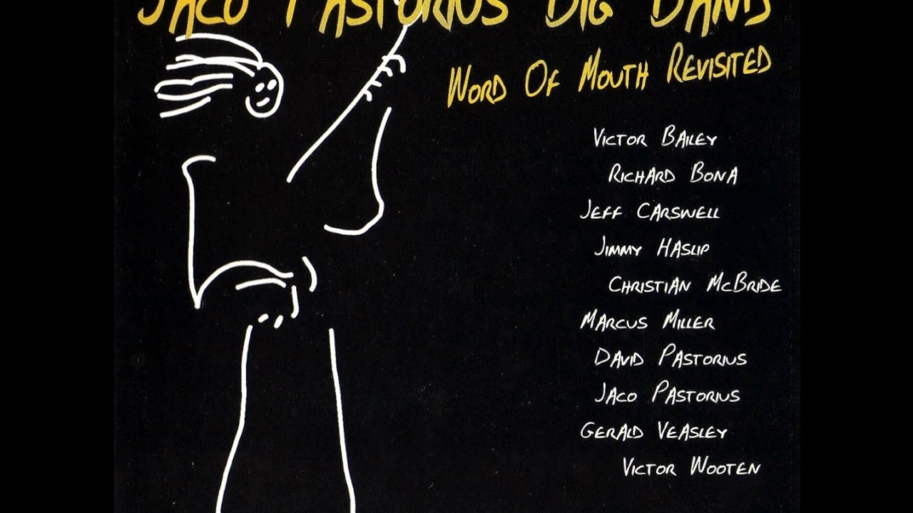 Pastorius Out Big Band Jaco Word