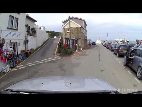 A Drive Through Llangrannog, Wales.