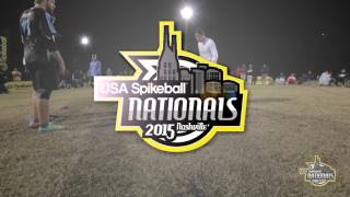 USA Spikeball Nationals: Finals Match Chico Spikes vs. Strange Embrace