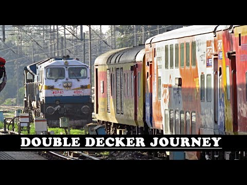 A Complete Journey : Double Decker Express - Delhi to Jaipur [Indian Railways]