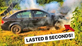NEW CAR! Pontiac FAIL! STRONGEST MUFFLER EVER!!! | Mark Freeman #408