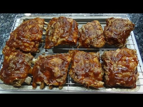 Slow Cooker BBQ Beer Pork Ribs