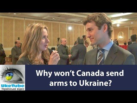 Why won't Canada send weapons to Ukraine? Чому Канада не висилає зброю до України?