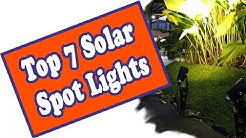 🌻 Best Outdoor Solar Spot Lights - The Top 7 Landscape LED Spotlights
