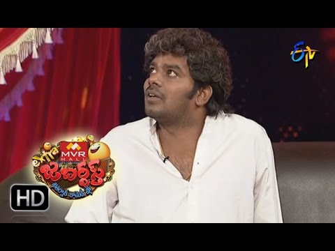 Sudigaali Sudheer Performance | Extra Jabardsth | 11th November 2016 | ETV  Telugu