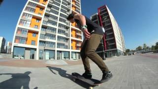 Езда на скейте ( Instagram @valeriedog )