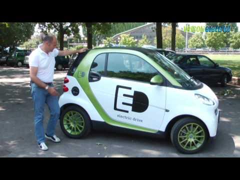 Nuova Smart Electric Drive: prova su strada