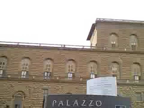 In front of the Pitti Palace