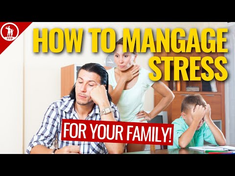 Stress Hurts Your Family & Your Health: Use These Tips To Help Manage Family Stress