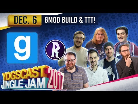 GMOD TTT LIVE! - YOGSCAST JINGLE JAM - 6th December 2017
