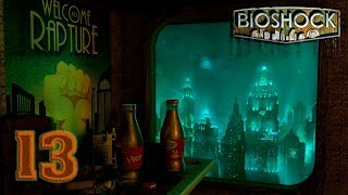 """Bioshock: Remastered [4K 60FPS] прохождение на геймпаде часть 13 Порт """"Весёлый"""" и его окрестности"""
