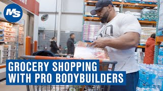 Grocery Shopping with Pro Bodybuilders | Fouad Abiad