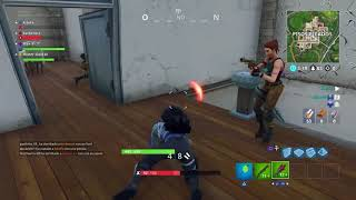 Fortnite. possible hack? Lag? As?