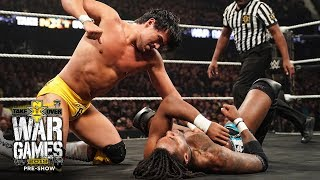 "Angel Garza survives House Call from Isaiah ""Swerve"" Scott: TakeOver: WarGames (WWE Network)"