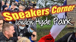 Speakers Corner in London - Shut down for the year? I wonder! London Hyde Park - Local Guide