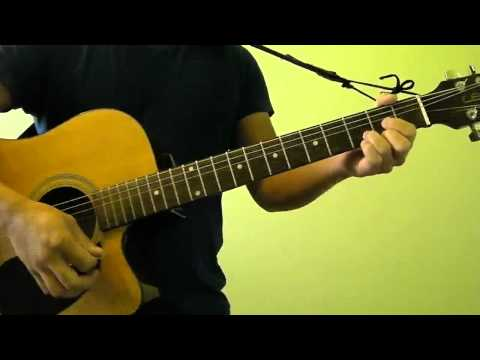 Stereo Hearts - Gym Class Heroes ft Adam Levine - Easy Guitar Tutorial (No Capo)
