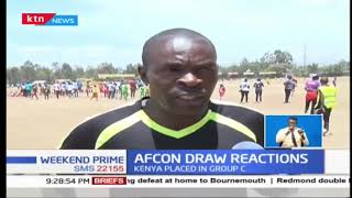 Former Harambee Stars player Maurice Onguti happy with AfCon draw