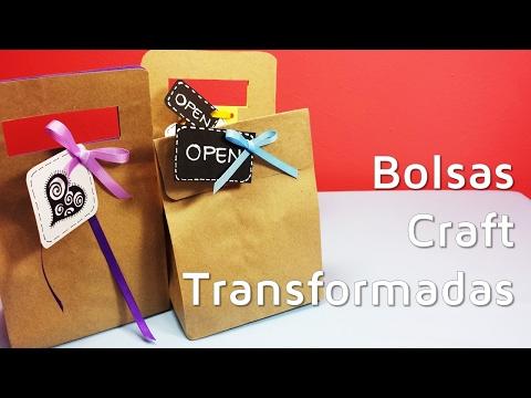 876503ca7 Cómo envolver regalos con bolsas de papel craft | facilisimo.com - YouTube