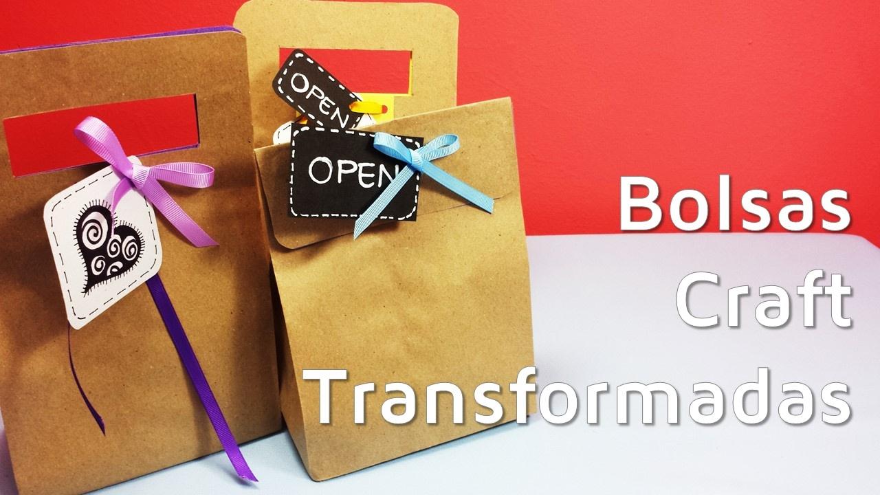 Como Envolver Regalos Con Bolsas De Papel Craft Facilisimo Com
