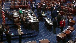 民主党赢得佐治亚州参议院决选 - YouTube