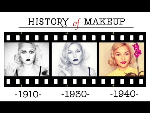HISTORY OF MAKEUP - part 1
