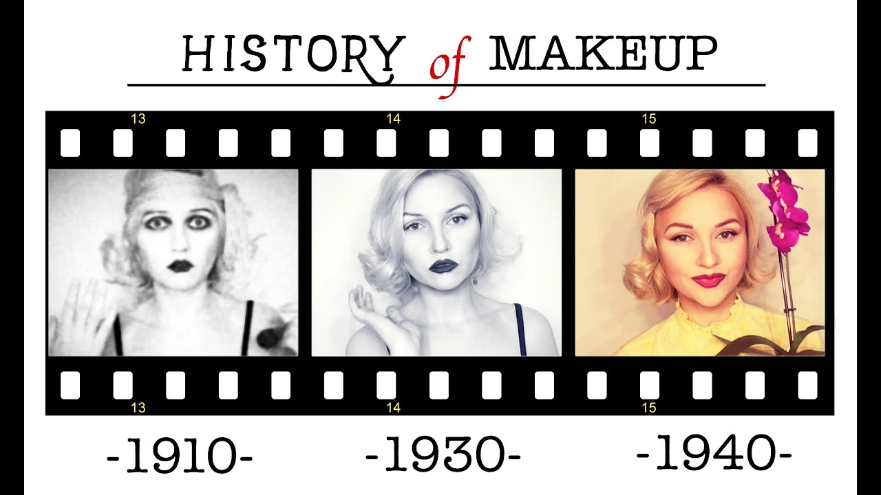 History of makeup part 1 youtube for What is cosmetics made of
