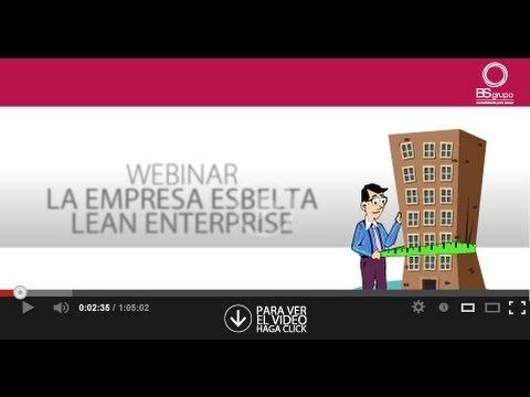 Webinar la Empresa Esbelta Lean Enterprise