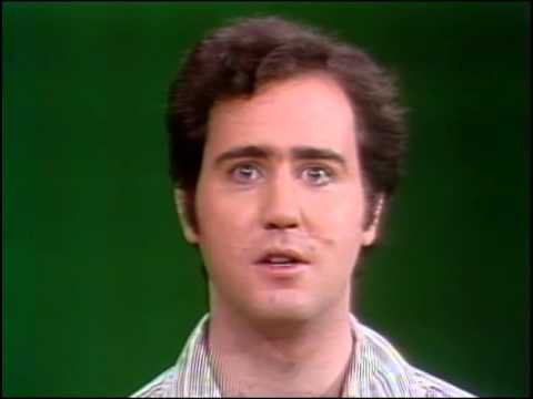 ANDY KAUFMAN - Rare SNL Screen Test / Audition (1975)