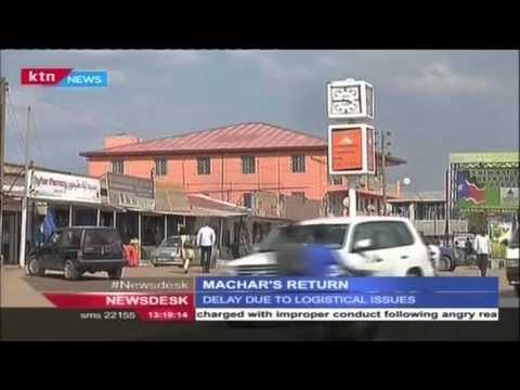 South Sudan awaits rebel  leader Riek Machar return today