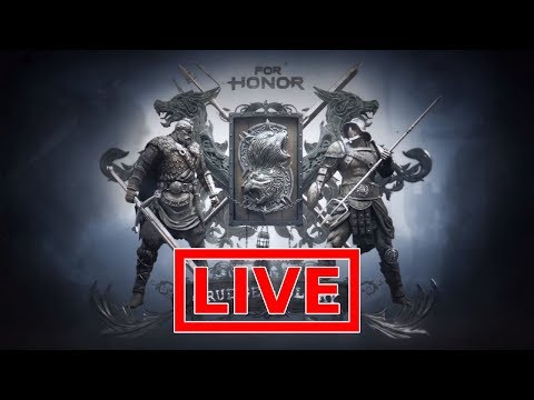 For Honor Live - SEASON 3 IS HERE!!! USING NEW HEROES!!