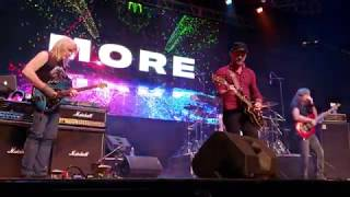 """Baixar FLYING COLORS Intro to """"MORE"""" Steve Morse-Mike Portnoy 10-18-19 Arcada Chicago 1st Row HD 60 FPS"""