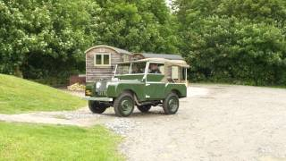 Land Rover Series I Reborn Live Test Drive 2017