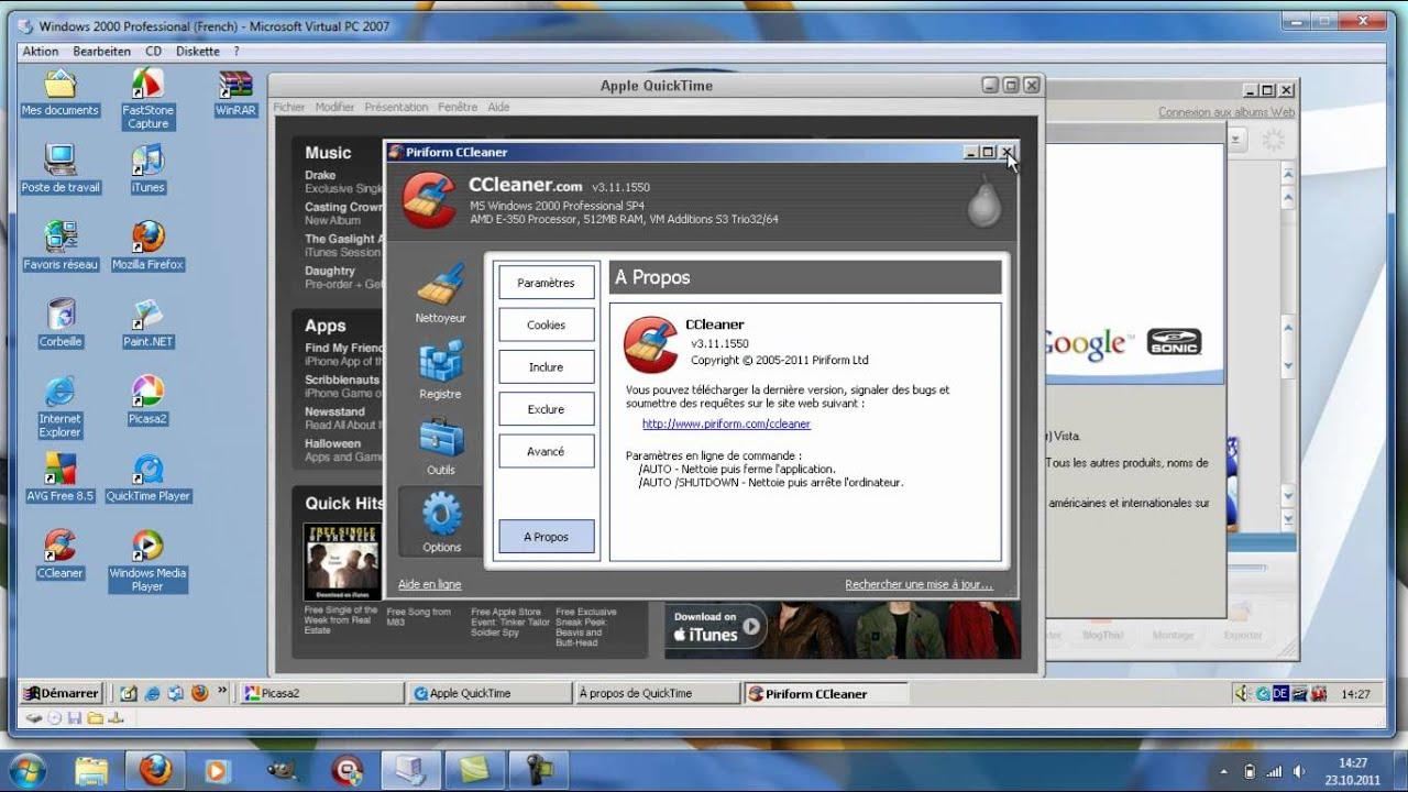 Windows 2000 Pro SP4 French 3En1 By Doom