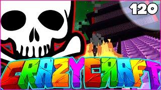 "Minecraft CRAZY CRAFT 3.0 SMP - ""THE SUPERHERO ARENA"" - Episode 120"
