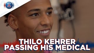 THILO KEHRER PASSING HIS MEDICAL !