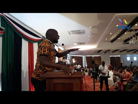 Murkomen forced to calm MCAs offended by Kajwang English tips slur