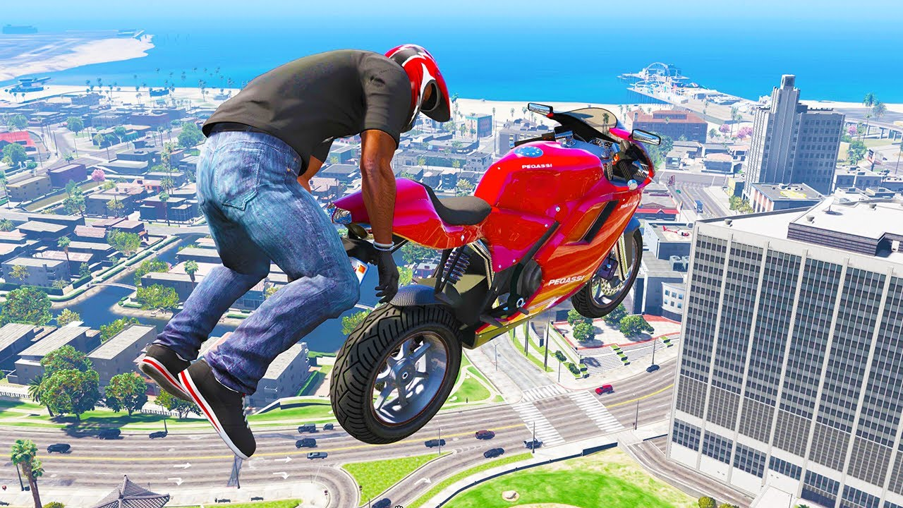 GTA 5 AMAZING Skills #9 (GTA 5 Epic, Stunts, Fails, Wins, Jumping, Thug life)