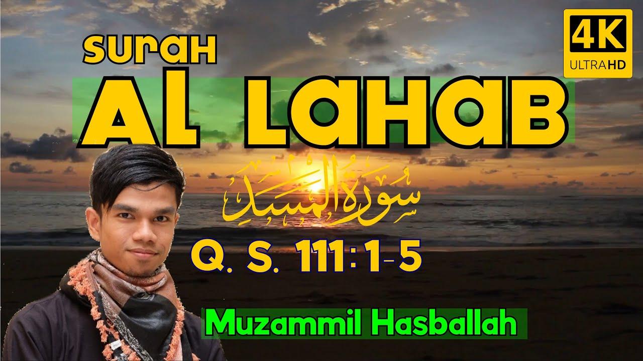 Surat Al Lahab dan Terjemahannya - Juz Amma Lengkap ...