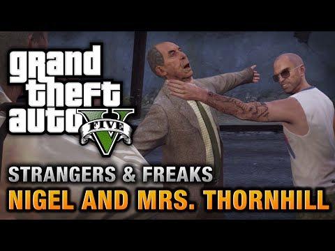 GTA 5 - Nigel And Mrs. Thornhill [100% Gold Medal Walkthrough]