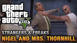 GTA 5 - Nigel and Mrs. Thornhill [100% Gold Medal Walkthrough]
