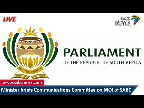Kubayi Ngubane briefs parly on MOI of the SABC, 20 February 2018