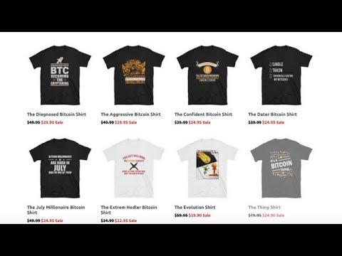 Bitcoin Shirt - Wo Bitcoin Shirts Kaufen? - Bitcoin Shop