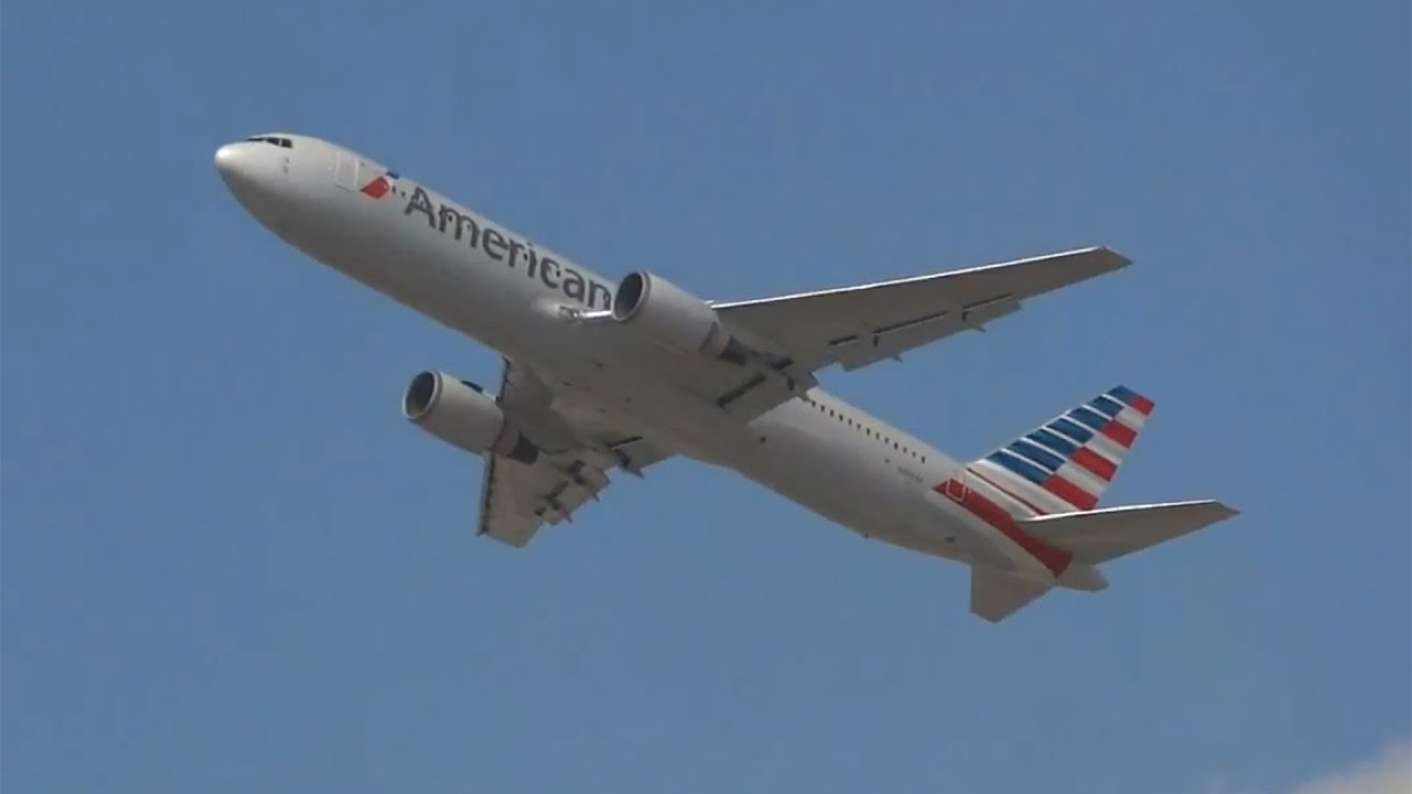 American Airlines 767 300 In New Colors N368aa At Dfw