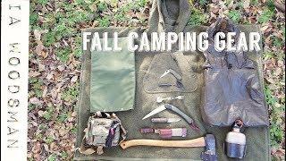 Fall Camping Gear
