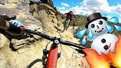 Escaped the snow for South Mountain shredding | Mountain Biking Phoenix Part 1
