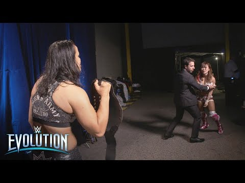 Sane attempts to confront Baszler after losing NXT Women's Title: WWE Exclusive, Oct. 28. 2018